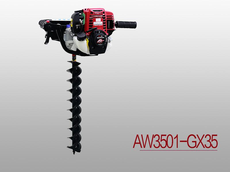 GX35蜗杆式种植机